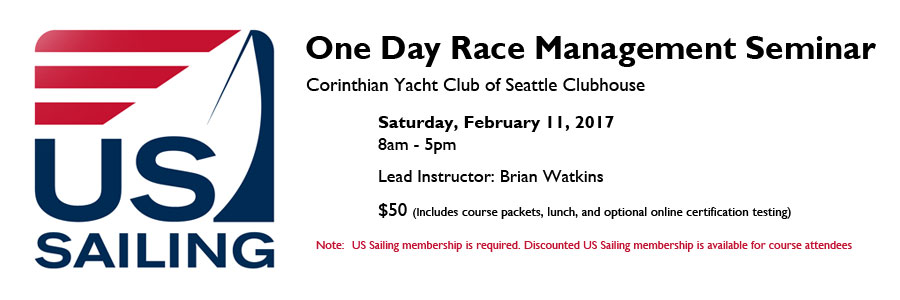 Corinthian Yacht Club of Seattle US Sailing One Day Race Management ...